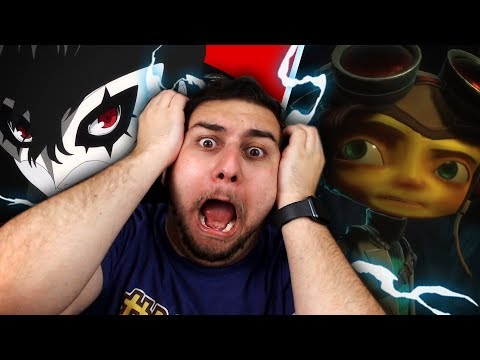 WE DIDNT SEE IT COMING!! PSYCHONAUTS 2 & PERSONA IN SMASH REACTION?! w/Squad + Girlfriend |