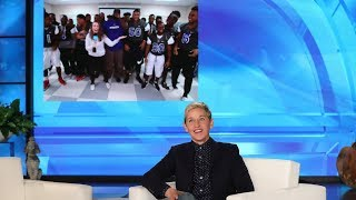 Ellen Surprises a Deserving High School Football Coach & His Team