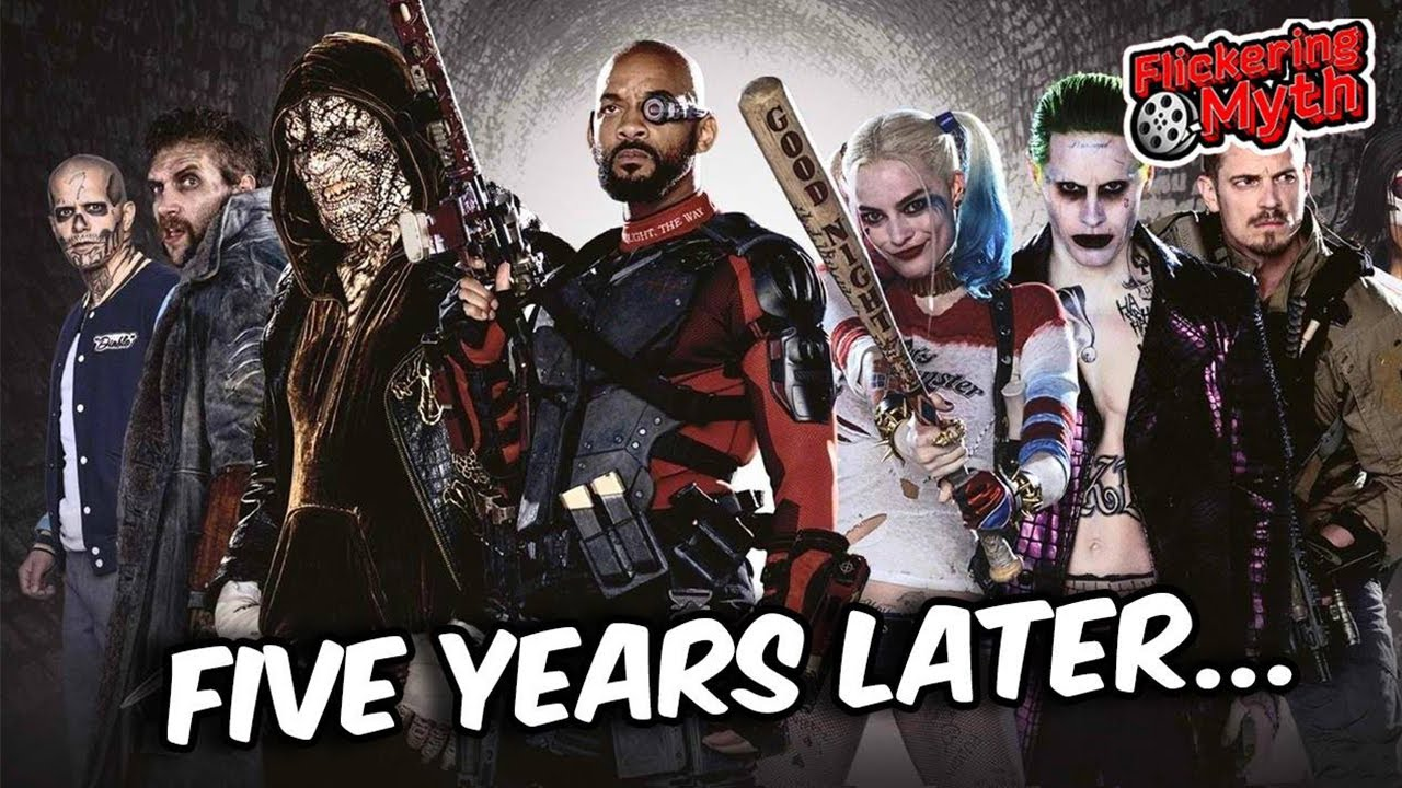 Revisiting David Ayer's SUICIDE SQUAD Five Years Later