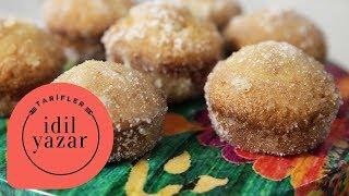 Donut Muffin Tarifi | Kek Tarifleri | İdil Yazar ile Yemek Tarifleri