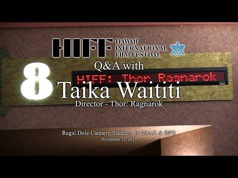 HIFF 2017 Q&A with Taika Waititi, Director of Thor: Ragnarok