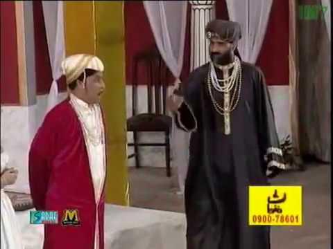 Umer Sharif And Sikandar Sanam - Akbar E Azam_clip10 - Pakistani Comedy Stage Drama