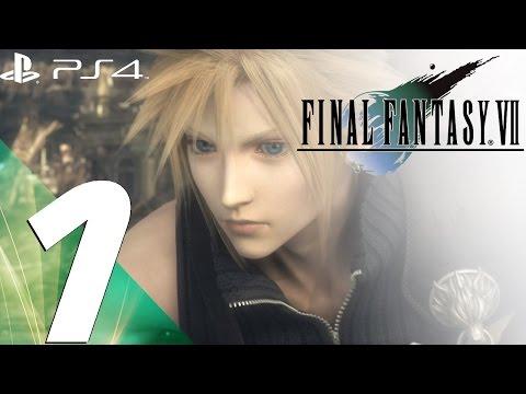 Final Fantasy VII PS4 - Gameplay Walkthrough Part 1 - Prologue [1080p 60fps]