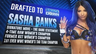Sasha Banks heads to SmackDown and more in WWE Draft Second Round: SmackDown, Oct. 11, 2019