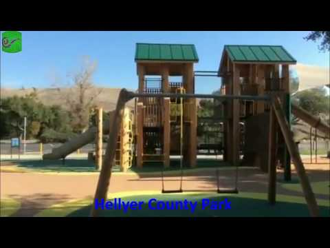 Travel to United States: Hellyer County Park , San Jose, USA