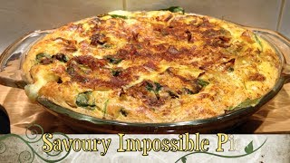 Savoury Impossible Pie Cheaters Quiche Cheekyricho Tutorial