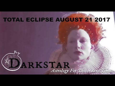 Total Solar Eclipse Leo August 21 ~ Virgin Queen by Darkstar Astrology