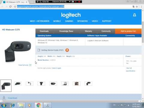 Logitech webcam drivers free download for windows 10
