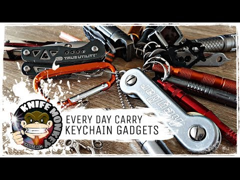 Every Day Carry EDC Keychain Gadgets (Options & Setup)
