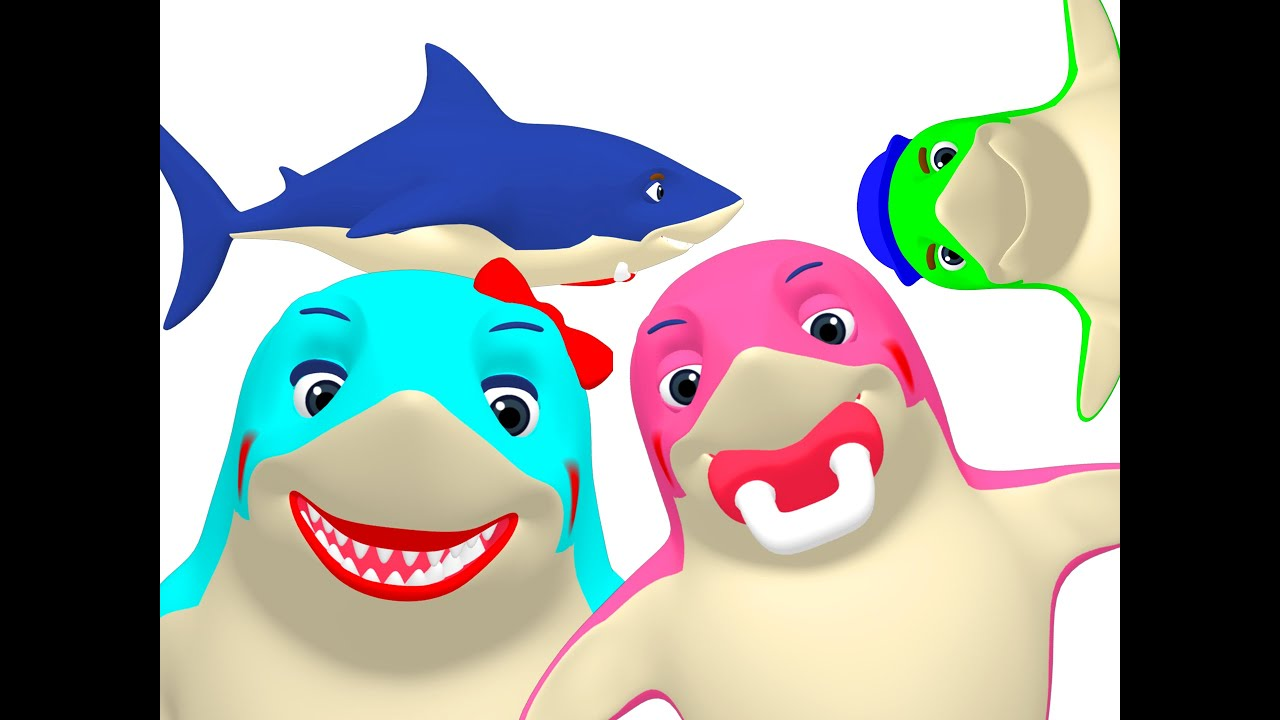 shark week 3d sharks more learn sea animals colors daddy