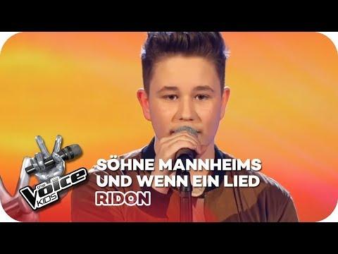 Söhne Mannheims - Und wenn ein Lied (Ridon) | Finale | The Voice Kids 2016 | SAT.1