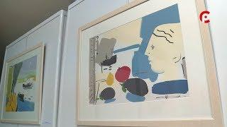 видео В галерее «Красный мост» открылась выставка Вячеслава Вахрамеева