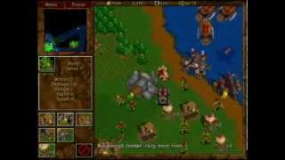 Warcraft 2: Tides of Darkness - Orc Campaign Gameplay - Mission 14 (FINAL)