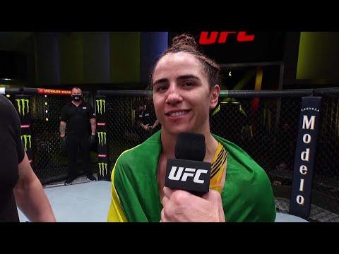Norma Dumont Octagon Interview   UFC Vegas 40