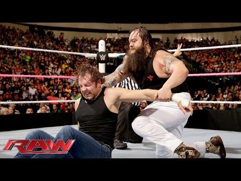 Roman Reigns, Dean Ambrose & Seth Rollins Vs. The Wyatt Family: Raw, October 19, 2015