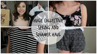 Huge Spring & Summer Collective Haul & Try-On | American Eagle, Forever 21, & more!