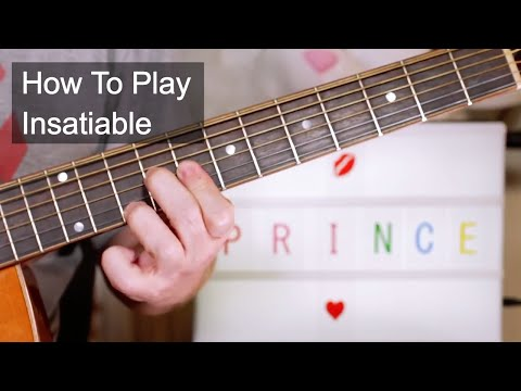 'Insatiable' Prince Guitar Lesson