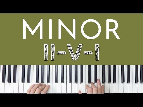 Minor II-V-I Chord Progression FINALLY Explained