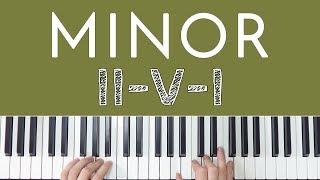 Minor II-V-I Chord Progression FINALLY Explained