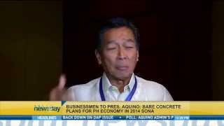 Businessmen To President Aquino: Bare Concrete Plans For PH Economy in 2014 SONA