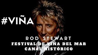 Rod Stewart (en Vivo) - Forever Young - Festival de Viña del Mar 2014 #VIÑA