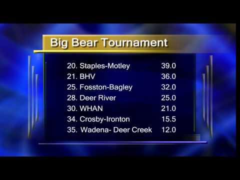 Big Bear Wrestling Tournament In Cass Lake - Lakeland News Sports - December 19, 2014