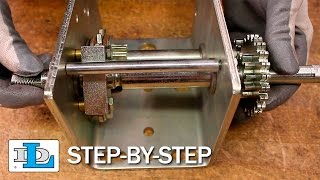 Replacing Parts and Reassembling the DLB1000ASL Brake Winch - Step-By-Step