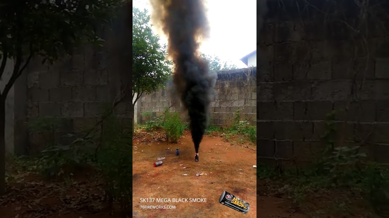 Mega Black Smoke Fireworks Video - Spirit of 76 Fireworks