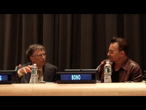 "Bill Gates and Bono Talk Philanthropy, ""Factivism"", and Their Surprising Friendship 