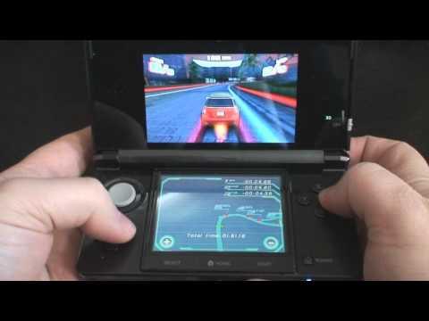 Asphalt 3D Nintendo 3DS Gameplay