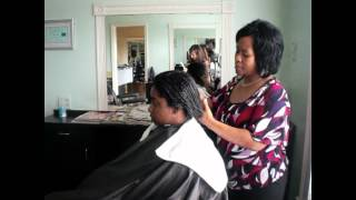 How to Repair and Style Damaged Hair  From Chemical Relaxers