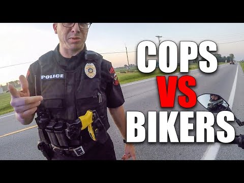 ANGRY & COOL  COPS | POLICE vs MOTORCYCLE |  [Episode 168]