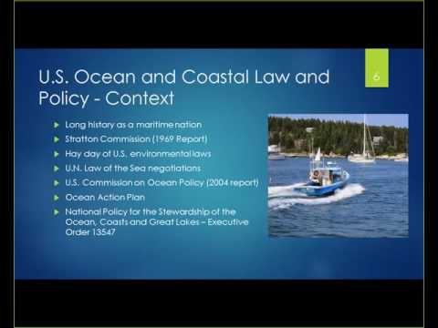 U.S. Ocean and Coastal Policy: Reflections of a government policy analyst turned PhD student