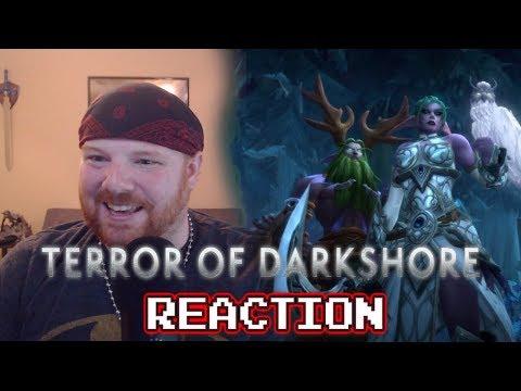 TERROR OF DARKSHORE CINEMATIC - Krimson KB REACTS!