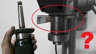 Cuña extractora de cono morse para el taladro de columna