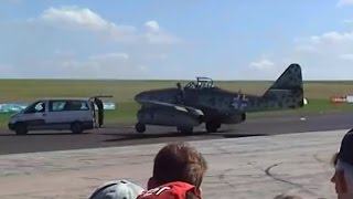 Me 262 flying at Airshow !!!