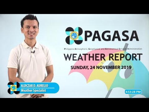 Public Weather Forecast Issued At 4:00 PM November 24, 2019