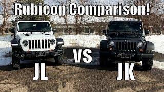 2018 Jeep Wrangler Rubicon JL vs. JK Comparison!