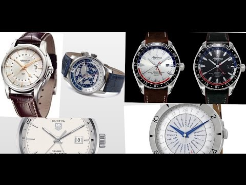5 Affordable Dual Time Zone, GMT, Worldtimer, Dress-Like Watches