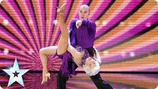 Paddy & Nico sashay back into the competition | Britain's Got Talent 2014