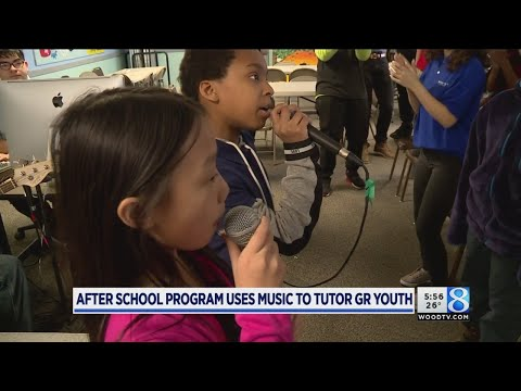 Afterschool program uses music to tutor GR youth