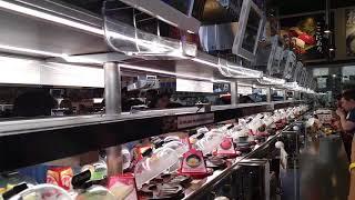 KURA Sushi Revolving Bar Houston Texas