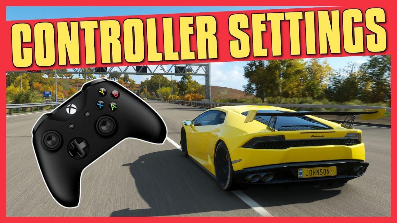 Forza Horizon 4 | CONTROLLER SETTINGS TUTORIAL