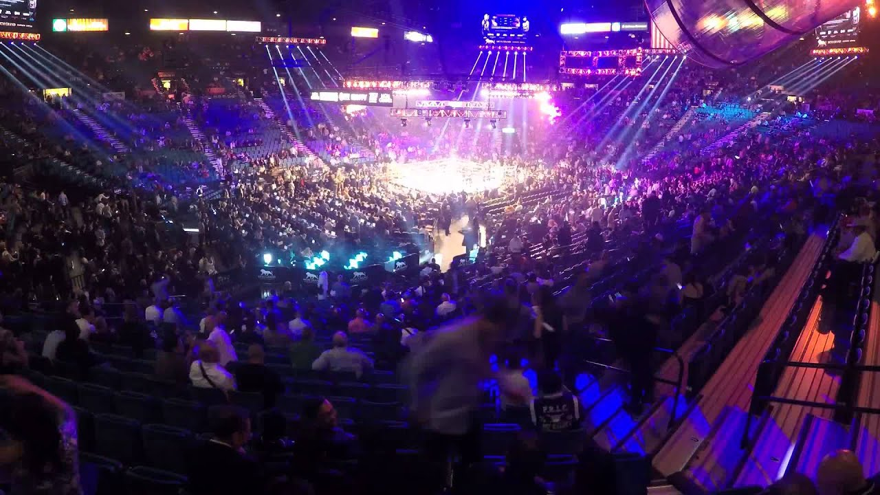 Mayweather vs Pacquiao Fight MGM Grand Garden Arena