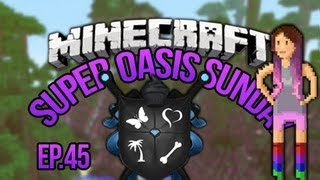 """Stegosaurus!"" SoS Minecraft Oasis Ep 45"