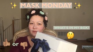 MASK MONDAY | SOO'AE PROPOLIS COLLAGEN ESSENCE HONEY MASK | WHAT''S IN MY BOX?