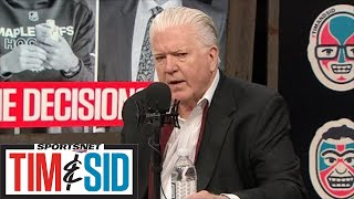 Brian Burke Talks Wheeling And Dealing At NHL Trade Deadline | Tim And Sid