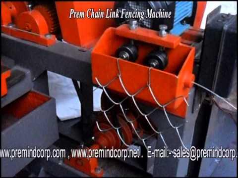 Prem Chain Link Fencing Machine