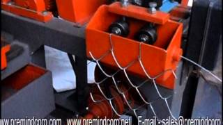 Prem Chain Link Fencing Machine.
