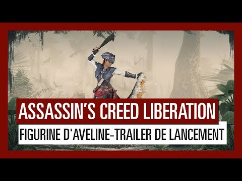Assassin's Creed Liberation- Figurine d'Aveline, Assassin de Nouv.-Orléans- Trailer de lancement thumbnail